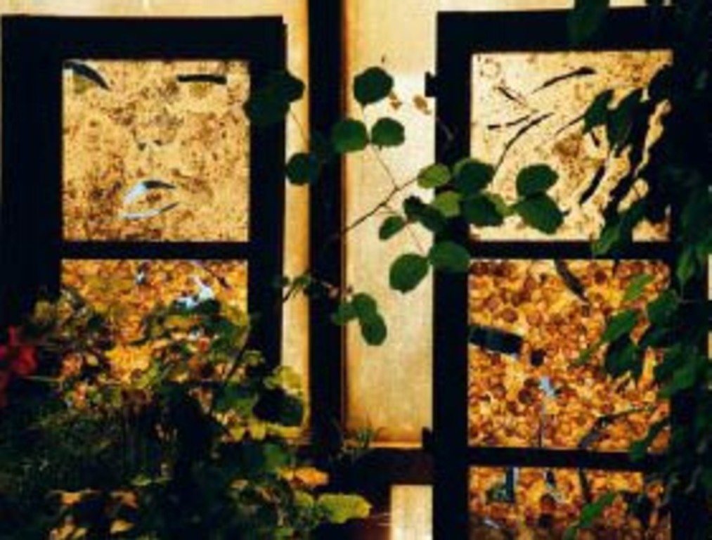 Unique art pieces wooden panels tealight and lamp for Art nouveau fenetre