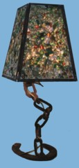 Lampe sculpture originale